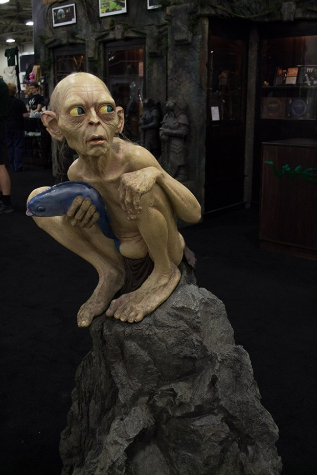 Gollum display