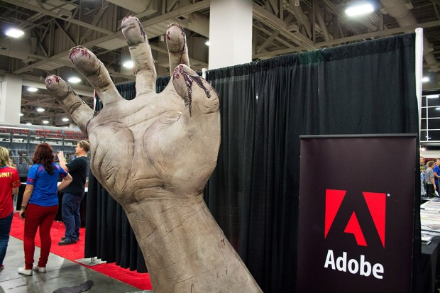 Mangled hand model for Adobe