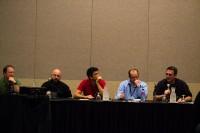 Self-Publishing vs. Big Publishers panel