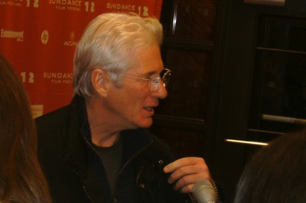 Photo of Richard Gere at Sundance