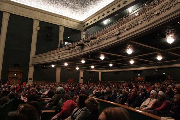 Q&A in the Grand Theatre