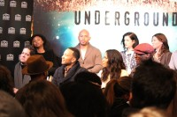 Underground cast and crw