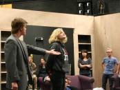 "Rehearsal of SLCC Black Box's ""The Curious Savage"""