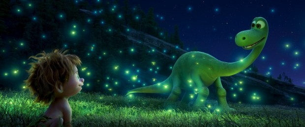 """Spot and Arlo from """"The Good Dinosaur"""""""