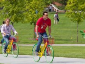"Owen Wilson (left) and Vince Vaughn in a scene from ""The Internship"""