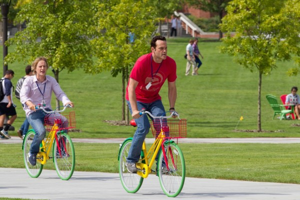 """Owen Wilson (left) and Vince Vaughn in a scene from """"The Internship"""""""