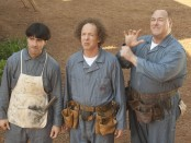 Moe (Chris Diamantopoulos), Larry (Sean Hayes) and Curly (Will Sasso) from 'The Three Stooges'
