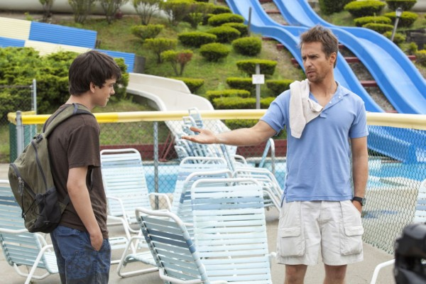 Still from 'The Way Way Back' featuring Liam James and Sam Rockwell