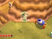 A Link Between Worlds presents a new feature that allows Link to become a painting on a wall, allowing him to navigate Hyrule in a new way.