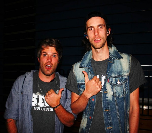 Backstage 3oh!3