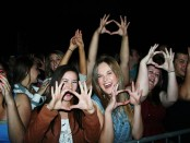 Fans anxiously await 3oh!3