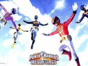 promotional wallpaper for Power Rangers Megaforce