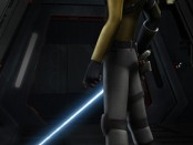 Still from Star Wars Rebels featuring Kanan Jarrus