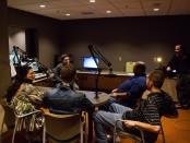 Big Budah visits Radio SLCC studio