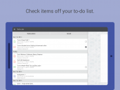 Canvas app to-do list Android demo screen