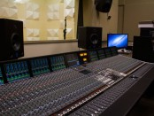 The Sound Board fo the Recording Studio.