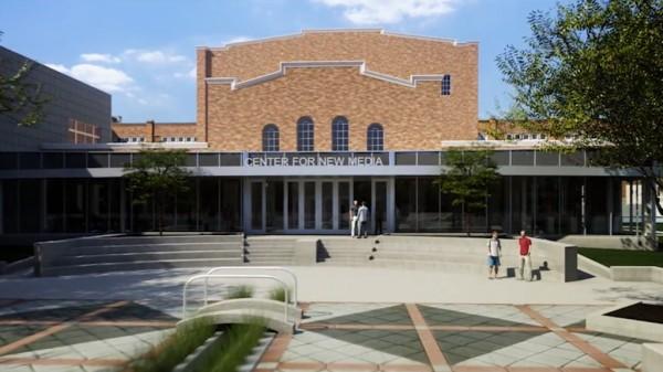 Center for New Media render