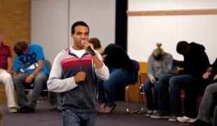 Chris Jones puts SLCC students in a daze