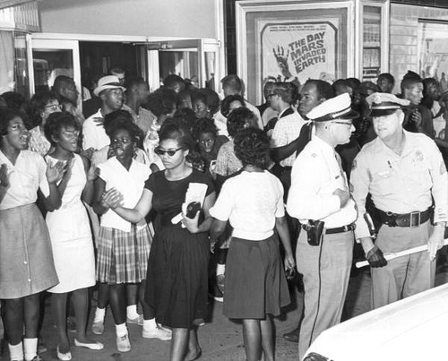 A Civil Rights demonstration