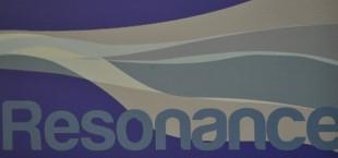 The logo for Club Resonance