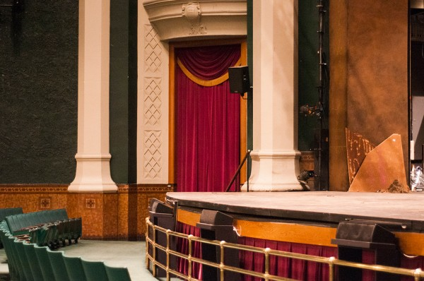 The Grand Theatre stage
