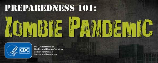 CDC Zombie Pandemic graphic
