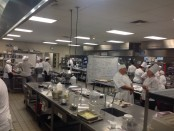 Large kitchen at the SLCC Culinary Institute