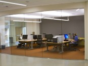 Picture of the new Globe Office at South City Campus.