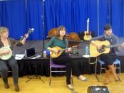 Kerri Ough, Sue Passmore and Caroline Brooks of the Good Lovelies
