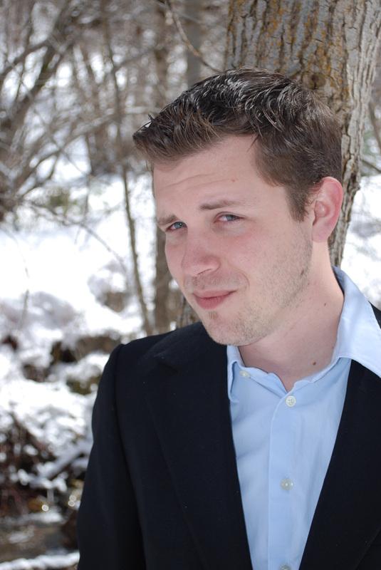 Author, blogger, and SLCC student David Hamilton
