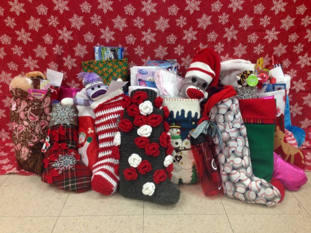 Helping Kids with Cancer stockings