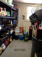 Unorganized storage area