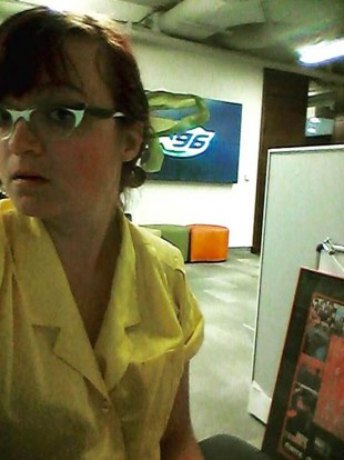 SLCC communication student Amber Gentry currently interns at X96.