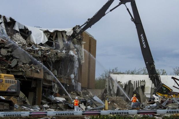 Admin Building demolition