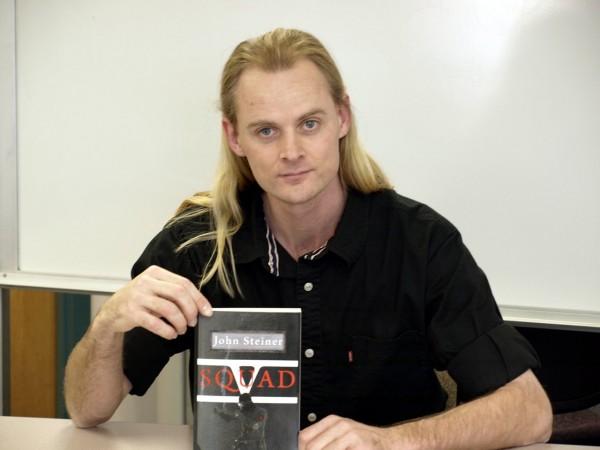 SLCC tutor John Steiner