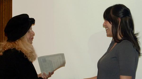 Dr. Anna Szabados, left, and KaLee Kilgrow