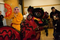 Lion Dance and Buddha