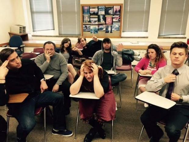 Majoring in Improv comedy troupe