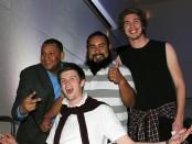 Carlos Moreno, Connor Holt, Arturo Salazar and Alexander Sletten