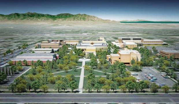 Rendering of Taylorsville Redwood Campus