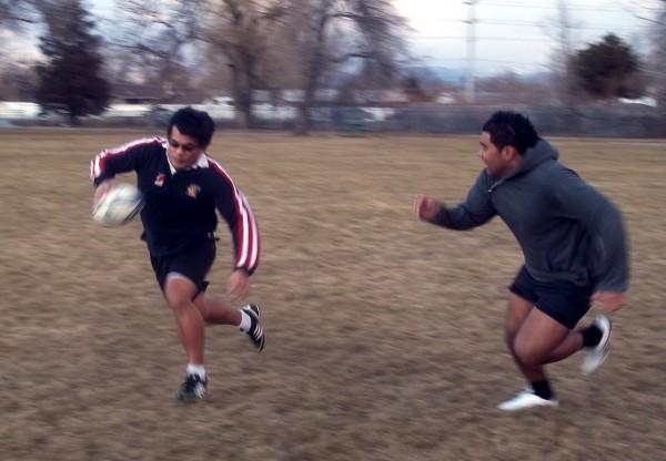 SLCC Rugby Club practice