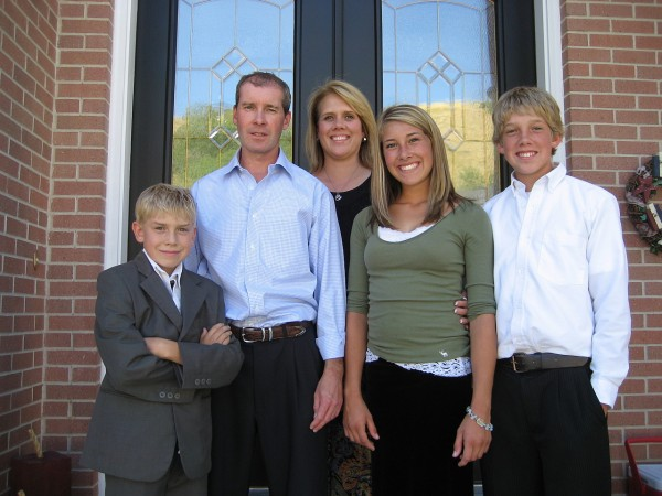 Brent Warnock family picture