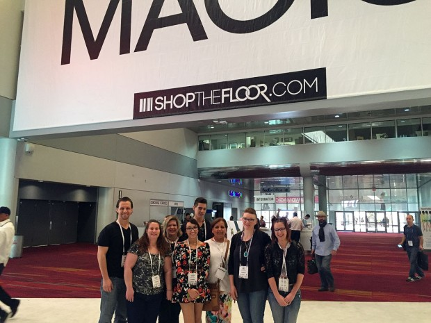 SLCC students at MAGIC Vegas
