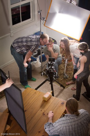 SLCC film production class in spring 2014