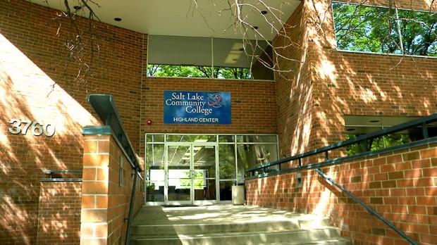 Highland Center entrance