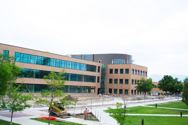 Instructional and Administration Building construction