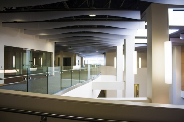 Looking west from the 2nd Floor catwalk
