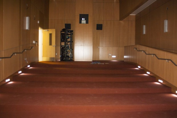 Film screening area inside the CFNM