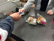Buying food with a OneCard