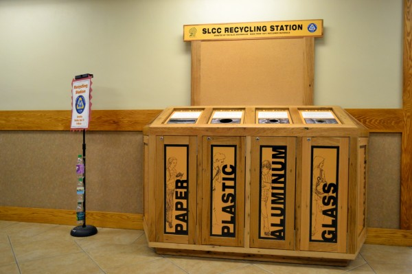 New SLCC recycling station